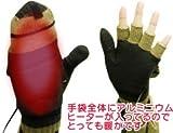 USBあったか手袋 2008年モデル(ダークブラウン色)