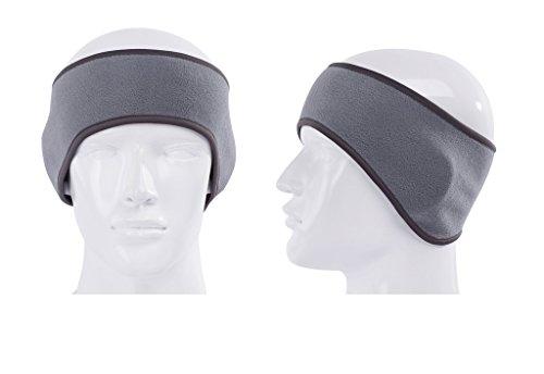 GoYonder Fleece Thermal Headbands Ear Warmers 2 Gray
