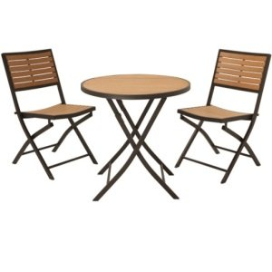 Patio Furniture - 60074 3-Piece Bistro Set Lifetime Table and Chairs from EDI