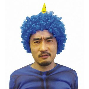 Blue Demon wig