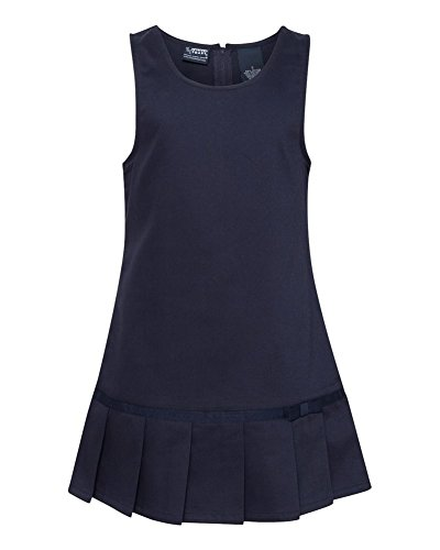 French Toast - Little Girls Pleated Jumper