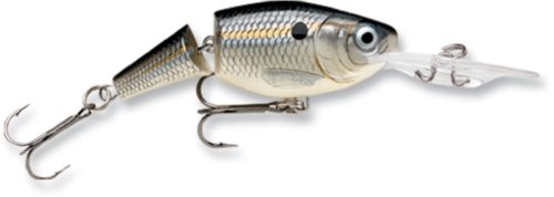 Rapala Jointed Shad Rap 04 Fishing lure (Silver Shad, Size- 1.5)