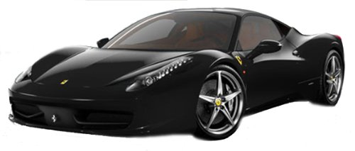 Hot Wheels Collector Foundation Ferrari 458 Italia - Black (Ferrari 458 Italia Model compare prices)