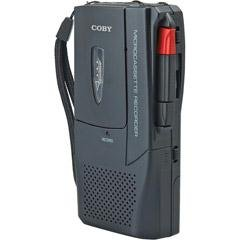 Coby CXR123 Voice Activated Micro-Casette Voice Recorder
