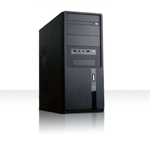 Komplett PC System Rechner Intel Core i5-3570K 4 x 3,4GHz | 8 GB RAM | 500 GB Festplatte | 22x DVD Brenner | USB 3.0 | Intel HD4000 OnBoard VGA | 7.1 Soundchip | Gigabit LAN | 430 Watt (silent) Netzteil | Cardreader | AsRock Mainboard | Design Gehäuse