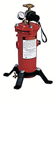 Breathing air filter w/ regulator
