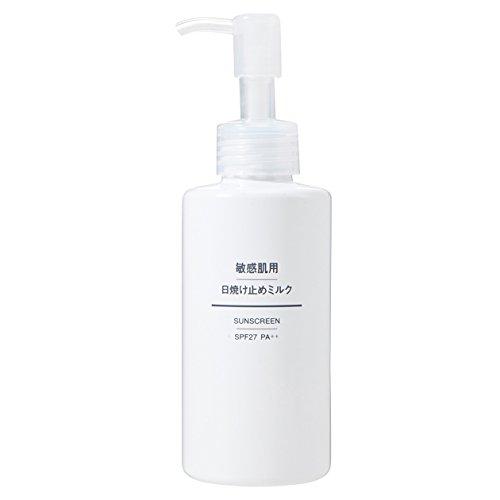 無印良品 敏感肌用日焼け止めミルク PF27 SPF27・PA++ 150ml