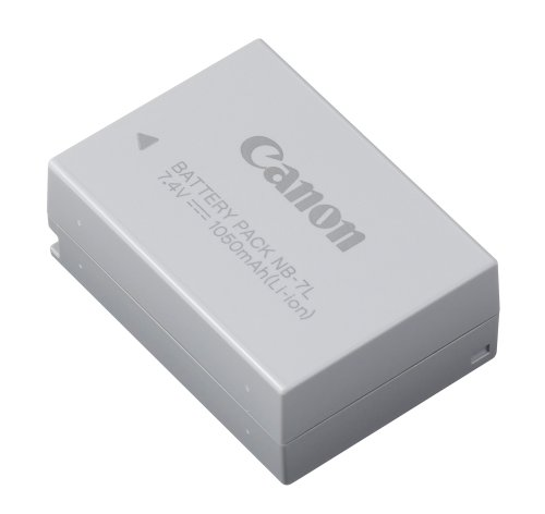 Canon NB-7L Lithium-Ion Battery Pack for Canon G10 & G11 Digital Cameras - Retail Packaging