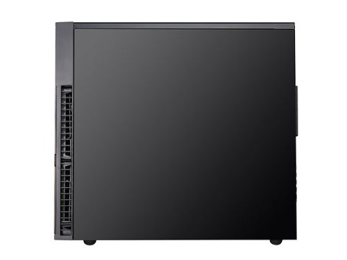Silverstone Tek Micro-ATX Mini-DTX, Mini-ITX Mini Tower Plastic with Aluminum Accent Computer Cases PS07B (Black)