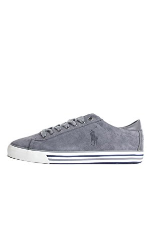 Polo Ralph Lauren HARVEY Sneakers Basse Uomo Grigio 43