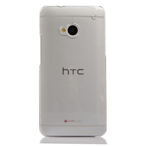 KaysCase Slim Hard Shell Cover Case for the new HTC One Mini (M4) Smart Phone (Clear)
