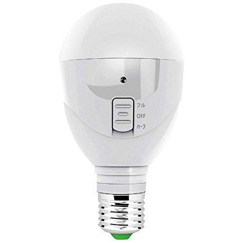 ラブロス マジックバルブ パッと! 停電時に自動点灯 省エネLED電球&懐中電灯 昼白色 MBP5W-B