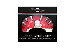 Decorating Set with 6 Tips and Cloth Pastry Bag