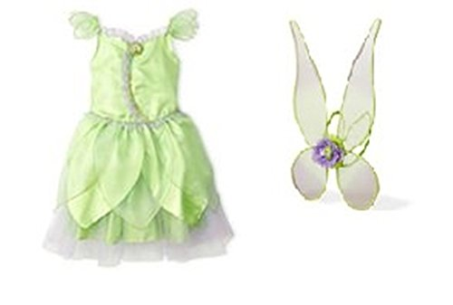 Disney Tinkerbell Fairy Costume & Wing Set