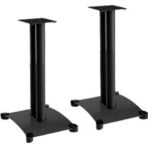 Cheap Sanus Systems SF22 Steel Foundations 22″ Tall Speaker Stand for Medium to Large Bookshelf Speakers (SF22-B1)
