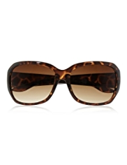 M&S Collection Animal Print Rectangular Sunglasses