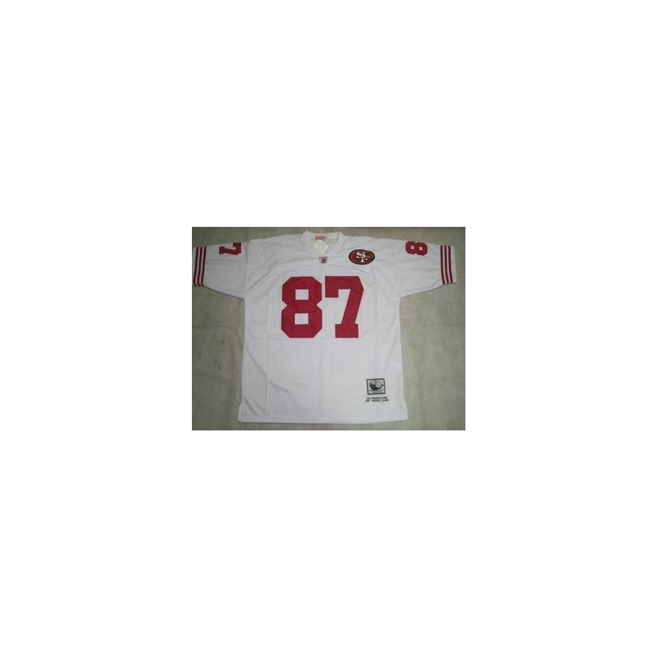 Clark Jerseys? San Francisco 49ers #87 Dwight Clark White Throwback