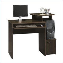 Buy Low Price Comfortable Sauder Office Beginnings Wood Computer Desk in Cinnamon Cherry (B0045A94JY)