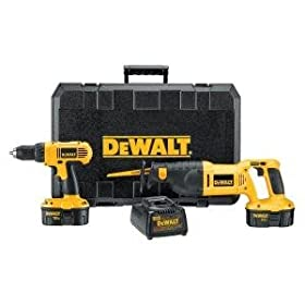 DEWALT DC759CA 18-Volt Compact Drill/Reciprocating Saw Combo Kit