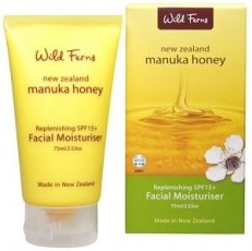 Wild Ferns Manuka Honey Facial Moisturise 75ml