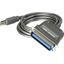 Computer Cables & Tools-IOGear USB to Parallel IEEE 1284 Printer Adapter