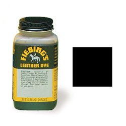 Tandy Leather Fiebings U.S.M.C. Black Leather Dye 2100-01