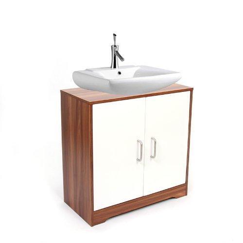 Arredo bagno mobile n63 sottolavabo con sportello - Sottolavabo bagno amazon ...