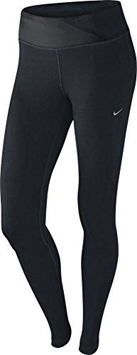 Nike Dri-Fit Epic Run Tight - Small - BLACK/ANTHRACITE//MATTE SILVER