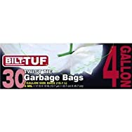 Presto Products GKL032571 Bilt-Tuf 4 Gallon Trash Bag-4GL 30 CT GARBAGE BAG