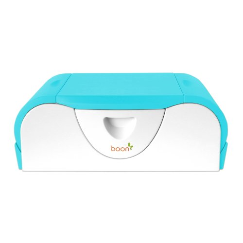 Boon Potty Bench Training Toilet with Side Storage, Blue Raspberry