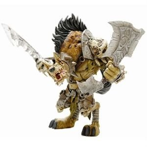 Picture of Diamond Comics World of Warcraft Series 1: Gnoll Warlord: Gangris Riverpaw Action Figure (B001EVX4XO) (Diamond Comics Action Figures)