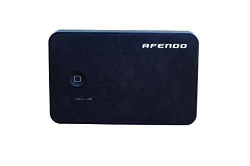 Afendo 5000Mah Dual Usb (2.1A/1.0A Output) Compact External Portable Rechargeable Emergency Backup Power Bank Ultra-High Density Battery Charger L For Tablet, Notepad, Smart Phone, Cell Phone, Pda, Mp3 Mp4 -Player, Bluetooth Speakers Headset, Bluetooth Sp front-604350