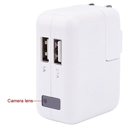 For Sale! 1920x1080P HD Hidden Camera USB Phone Charger Mini DV Video Recorder Motion Activated Camc...