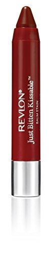 Revlon, Just Bitten Kissable, Balsamo labbra colorato, Romantic, 2,7 g