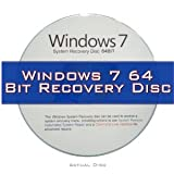 31Tmq%2BCmiSL. SL160  Windows 7 System Recovery disk Live Boot CD 64 bit DVD (disc is comparable with Home Premium, Professional and Ultimate)