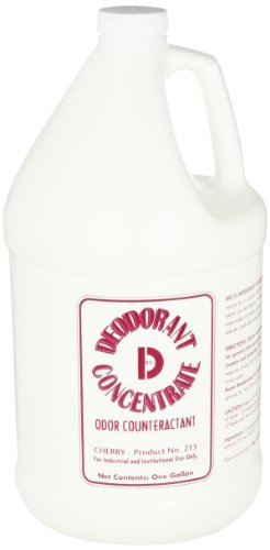 Big D 1213 Concentrate Deodorant, 1 Gallon Bottle, Cherry Fragrance (Pack Of 4)