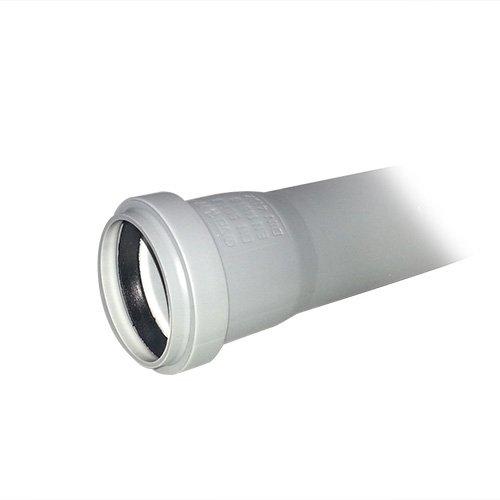 HT - Rohr Länge 1000 mm mit Muffe