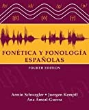 img - for Fontica y fonologa espaolas 4th (fourth) edition book / textbook / text book