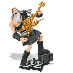 Guitar Hero Series 1 Variant Figures:God of Rock Black Toga with Gold Guitar - 1