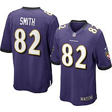 Torrey Smith Baltimore Ravens Home Jersey: Size - Large by ON-FIELD