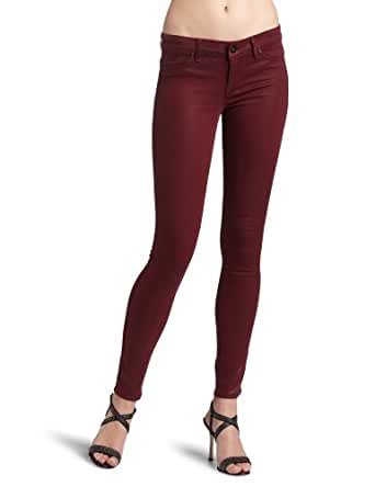 Rich & Skinny Women's Jegging, Red Leather, 23