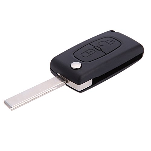2-button-replacement-flip-key-fob-case-shell-blade-for-peugeot-207-307-308-407