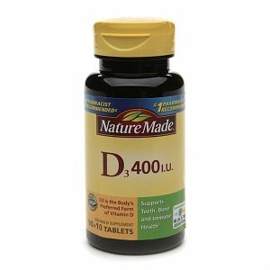 Nature Made Vitamin D3 400 I.U., 100 Count (Pack Of 2)