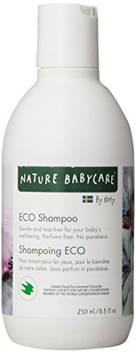 Naty Eco Shampoo, Perfume Free,  8.5-Ounce (Pack of 2)