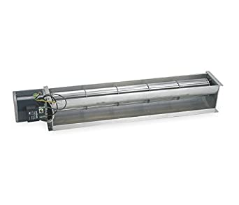 Dayton 3HMK2 Transflow Blower, 115 V, 373 CFM