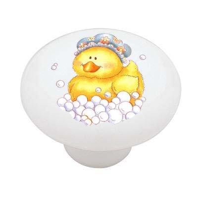 bubble-bath-rubber-duck-decorative-high-gloss-ceramic-drawer-knob