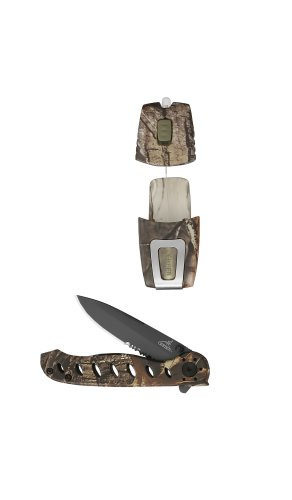 Gerber 22-41750 Evo Jr. Clip Folding Knife And Optiva Pocket Led Light front-1006469