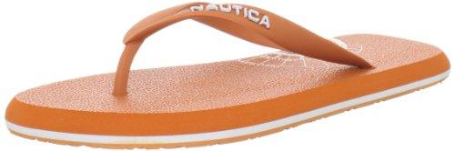 Nautica Men'S Del Rey Sandal, Orange, 13 M Us front-1063133