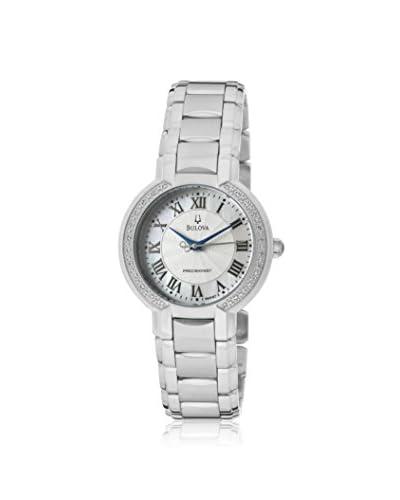 Bulova Women's 96R167 Precisionist Silver Tone Stainless Steel Watch