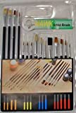 QTY 15 NEW Artist Paintbrush Set ART SUPPLIES CRAFTS